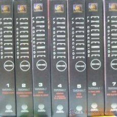 Series de TV: EXPEDIENTE X LA COLECCION LA VERDAD ESTA AQUI DENTRO 7 VHS ( 1 - 7 ). Lote 12584238