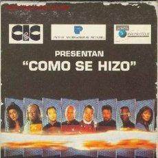 Series de TV: COMO SE HIZO STAR TREK LA PROXIMA GENERACION - VIDEO VHS ORIGINAL - CIENCIA FICCION. Lote 21072975