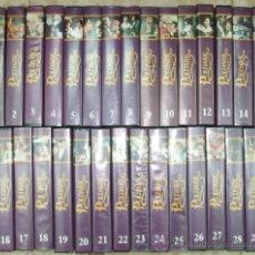 Series de TV: POLDARK. BASADA EN LA NOVELA DE WINSTON GRAHAM. 29 VHS (COMPLETA). Lote 27134123