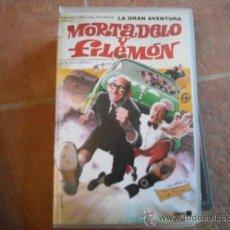 Series de TV: MORTADELO Y FILEMON.VHS. Lote 25658731