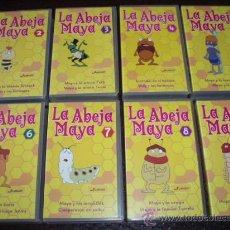 Series de TV: LA ABEJA MAYA (LOTE DE 8 PELICULAS). Lote 13877197
