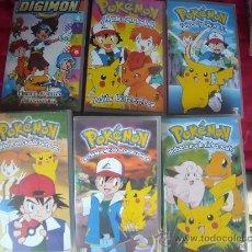 Series de TV: POKEMON-VHS(COMPRA MINIMA 10 EUR--). Lote 27030352