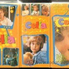 Series de TV: CELIA. SEGUN LOS CUENTOS DE ELENA FORTUN (TRIPLE VHS) (VHS-133). Lote 14845896