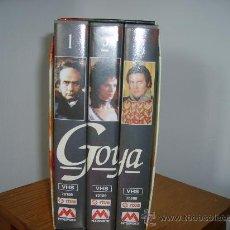 Series de TV: GOYA -SERIE COMPLETA 6 H. Lote 26282803