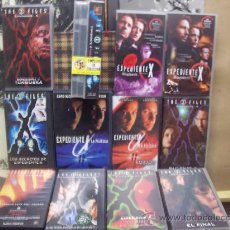Cine: EXPEDIENTE X - LOTE 13 VIDEOS VHS . Lote 27536377
