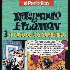 Series de TV: VIDEO.- VHS.- MORTADELO Y FILEMON Nº 3 .- EL CASO DE LOS GAMBERROS.- COL. EL PERIODICO. Lote 17901226