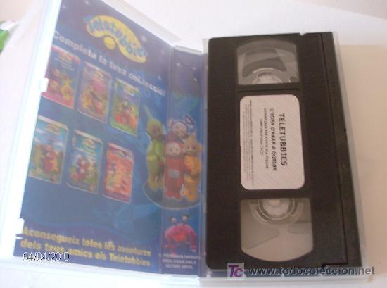 """Series de TV: PELICULA VHS TELETUBBIES """"ES LHORA DANAR A DORMIR"""" - Foto 3 - 26757464"""