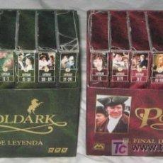 Series de TV: POLDARK I Y II, COLECCIÓN COMPLETA DE VIDEOS VHS. Lote 21089480
