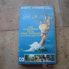 Series de TV: PELICULA VHS LOS CABALLEROS DE LA MESA CUADRADA MONTY PYTHON VERSION INTEGRA POR 1ª VEZ . Lote 26928432