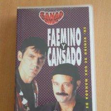 Series de TV: FAEMINO Y CANSADO EN: DENTRO DE UNA MANADA DE PUMAS. Lote 21731181