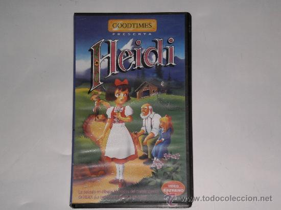 CARATULA COLECCION GOODTIMES , ( HEIDI ) , SIN PELICULA SOLO CARATULA . (Series TV en VHS )