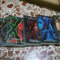 Series de TV: LOTE 5 PELICULAS EXPEDIENTE X- EXPEDIENTE 1-2-7-8 Y 9 VHS. Lote 28108875