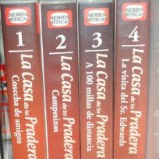 Series de TV: LOTE 4 CINTAS VHS COLECCION LA CASA DE LA PRADERA. Lote 28383717