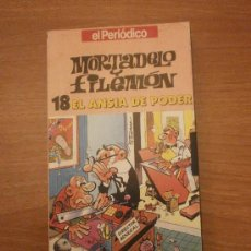Series de TV: MORTADELO Y FILEMON - 18 EL ANSIA DE PODER EL PERIODICO . Lote 29147363