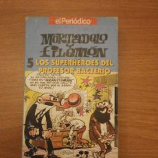 Series de TV: VHS - MORTADELO Y FILEMON - 5 LOS SUPERHEROES DEL PROFESOR BACTERIO. Lote 29170195