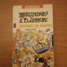 Series de TV: VHS - MORTADELO Y FILEMON .8 TESTIGO DE CARGO-- EL PERIODICO . Lote 29170220