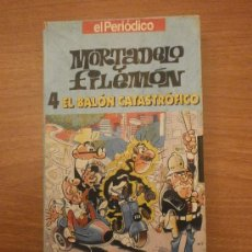 Series de TV: VHS - MORTADELO Y FILEMON - 4 EL BALON CATASTROFICO --EL PERIODICO . Lote 29170229