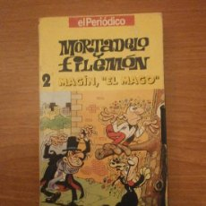 Series de TV: VHS - MORTADELO Y FILEMON - 2- MAGIN EL MAGO --EL PERIODICO . Lote 29170240