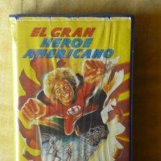 Cine: VHS - EL GRAN HEROE AMERICANO (1983) RAREZA! SERIE DE LOS 80!. Lote 29852152