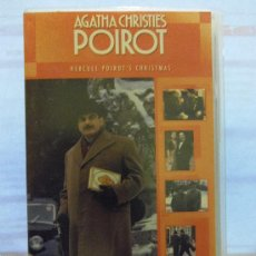 Series de TV: INTERESANTE VHS. EN INGLES. POIROT. AGATHA CHISTIE. DAVID SUCHET. COMPLETA TU COLECCION. Lote 29924630