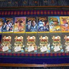 Cine: VHS LOTE 14 PELÍCULAS LAS AVENTURAS DEL JOVEN INDIANA JONES. PARAMOUNT 1993-2000. MUY DIFÍCILES!!!!!. Lote 30943925