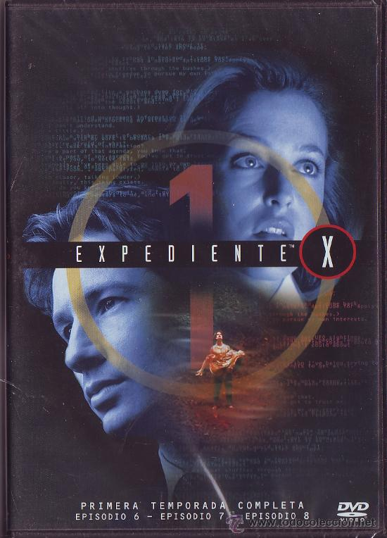 UXD EXPEDIENTE X DVD SERIE TV 1ª TEMPORADA EPISODIOS 6 , 7 Y 8 EXTRATERRESTRES SOBRENATURAL FICCIÓN (Series TV en VHS )