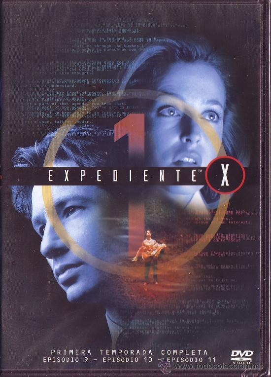 UXD EXPEDIENTE X DVD SERIE TV 1ª TEMPORADA EPISODIOS 9 ,10 Y 11 EXTRATERRESTRE SOBRENATURAL FICCIÓN (Series TV en VHS )