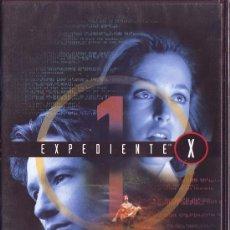 Series de TV: UXD EXPEDIENTE X DVD SERIE TV 1ª TEMPORADA EPISODIOS 9 ,10 Y 11 EXTRATERRESTRE SOBRENATURAL FICCIÓN. Lote 31024256