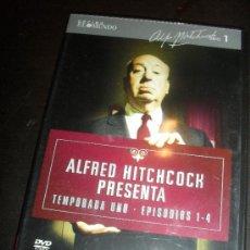 Series de TV: TEMPORADA 1. EPISODIOS 1-4. HITCHCOCK COLECCION. EL MUNDO. DVD. PELICULA. CASTELLANO. . Lote 31904362