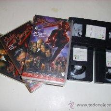 Series de TV: LOTE 3 PELICULAS VHS SERIE TV SECTA DE SANGRE 1,2 Y 3. Lote 32227676