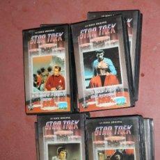 Series de TV: 17 CINTAS DE VIDEO VHS DE LA SERIE TELEVISIVA : STAR TREK. SERIE ORIGINAL *. Lote 32345456