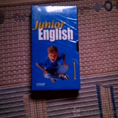 Series de TV: VHS JUNIOR ENGLISH Nº 1. Lote 32533632