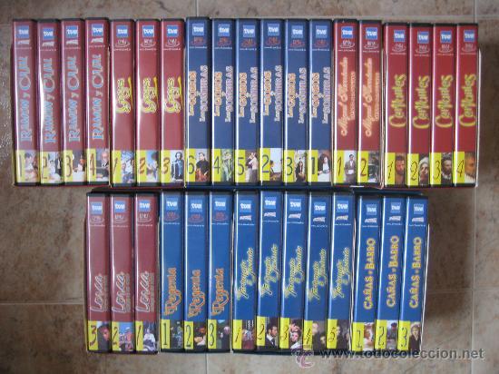 Series de TV: LOTE DE 9 SERIES DE TELEVISION EN VHS ,CERVANTES,GOYA,LORCA,LA REGENTA,CAÑAS Y BARRO, RAMON Y CAJAL, - Foto 2 - 34197011