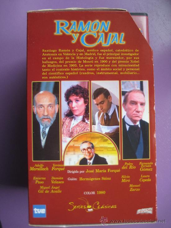 Series de TV: LOTE DE 9 SERIES DE TELEVISION EN VHS ,CERVANTES,GOYA,LORCA,LA REGENTA,CAÑAS Y BARRO, RAMON Y CAJAL, - Foto 3 - 34197011