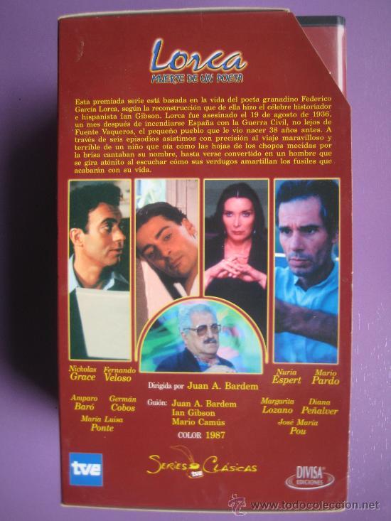 Series de TV: LOTE DE 9 SERIES DE TELEVISION EN VHS ,CERVANTES,GOYA,LORCA,LA REGENTA,CAÑAS Y BARRO, RAMON Y CAJAL, - Foto 4 - 34197011