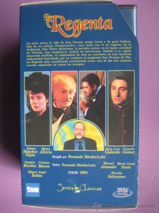 Series de TV: LOTE DE 9 SERIES DE TELEVISION EN VHS ,CERVANTES,GOYA,LORCA,LA REGENTA,CAÑAS Y BARRO, RAMON Y CAJAL, - Foto 7 - 34197011