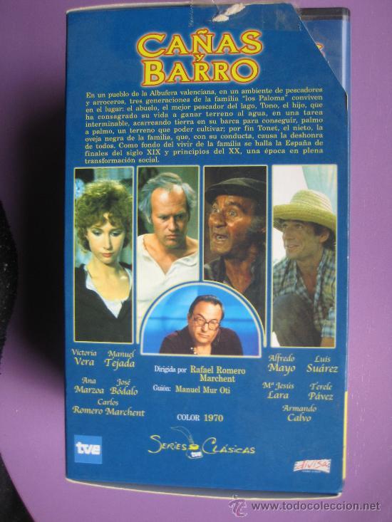 Series de TV: LOTE DE 9 SERIES DE TELEVISION EN VHS ,CERVANTES,GOYA,LORCA,LA REGENTA,CAÑAS Y BARRO, RAMON Y CAJAL, - Foto 9 - 34197011
