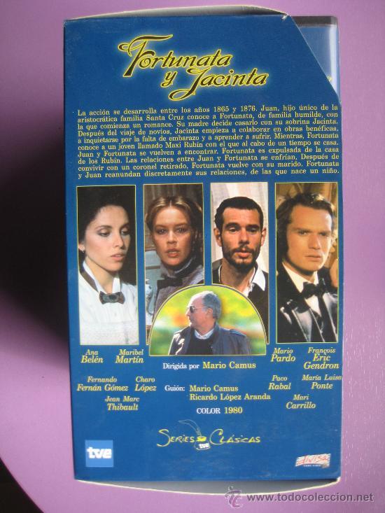 Series de TV: LOTE DE 9 SERIES DE TELEVISION EN VHS ,CERVANTES,GOYA,LORCA,LA REGENTA,CAÑAS Y BARRO, RAMON Y CAJAL, - Foto 10 - 34197011