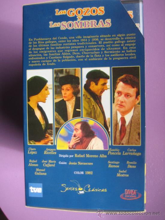 Series de TV: LOTE DE 9 SERIES DE TELEVISION EN VHS ,CERVANTES,GOYA,LORCA,LA REGENTA,CAÑAS Y BARRO, RAMON Y CAJAL, - Foto 11 - 34197011