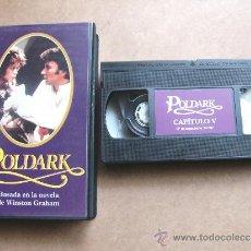 Series de TV: PELICULA DE VIDEO VHS DE LA SERIE DE TELEVISION POLDARK CAPITULO 5 - WINSTON GRAHAM. Lote 35423840