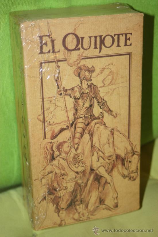 EL QUIJOTE: PRODUCCION DE RTVE COMPLETA EN DOS CINTAS VHS.(PRECINTADAS) (Series TV en VHS )