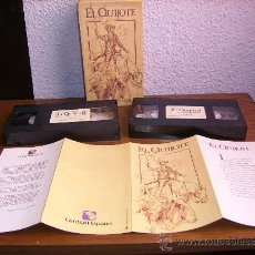 Series de TV: VIDEO - EL QUIJOTE - RTVE - EDICION BANCO HISPANO - 1992. Lote 38470846