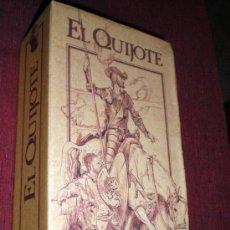 Cine: EL QUIJOTE-ALFREDO LANDA-FERNANDO REY-CELA-SERIE TV-1992-DOS CINTAS VIDEO VHS. Lote 38595630
