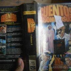 Séries de TV: CUENTOS ASOMBROSOS (VOLUMEN 8) -VHS. Lote 39236821