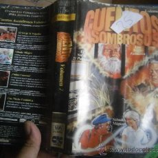Series de TV: CUENTOS ASOMBROSOS (VOLUMEN 7 )-VHS. Lote 39236936