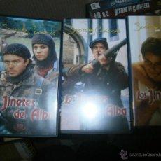 Series de TV: 3 PELICULAS DE LA SERIE -LOS JINETES DEL ALBA -VHS. Lote 39303234