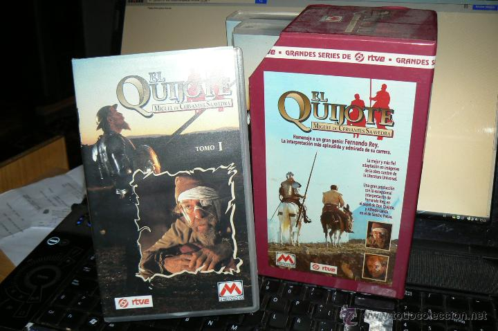 Series de TV: EL QUIJOTE / COMPLETA SERIE (RTVE) COMPLETA 1ª EDIC + LUJOSA CAJA ORIG, 270 MTOS / IMPECABLE - Foto 2 - 40117805