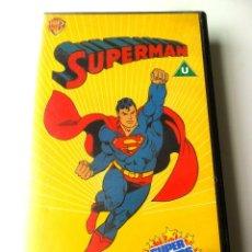 Series de TV: SUPERMAN . SUPER POWERS COLLECTION . VHS . EN INGLÉS . 1985. Lote 41328288