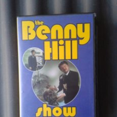 Series de TV: CINTA VHS SERIE TV TELEVISIÓN BENNY HILL HUMORISTA INGLÉS. Lote 41549972