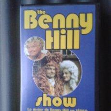 Series de TV: CINTA VHS SERIE TV TELEVISIÓN BENNY HILL HUMORISTA INGLÉS. Lote 41549983